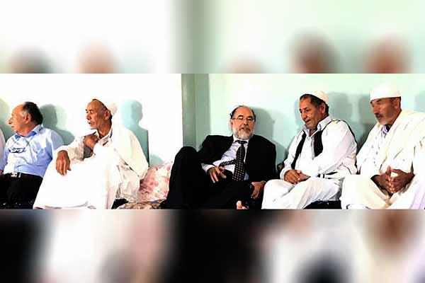 Professor Doctor Ehtuish Farag Ehtuish and a delegation from the Yes Libya National Movement  meet with Libyan Tribal sheikhs and Leaders